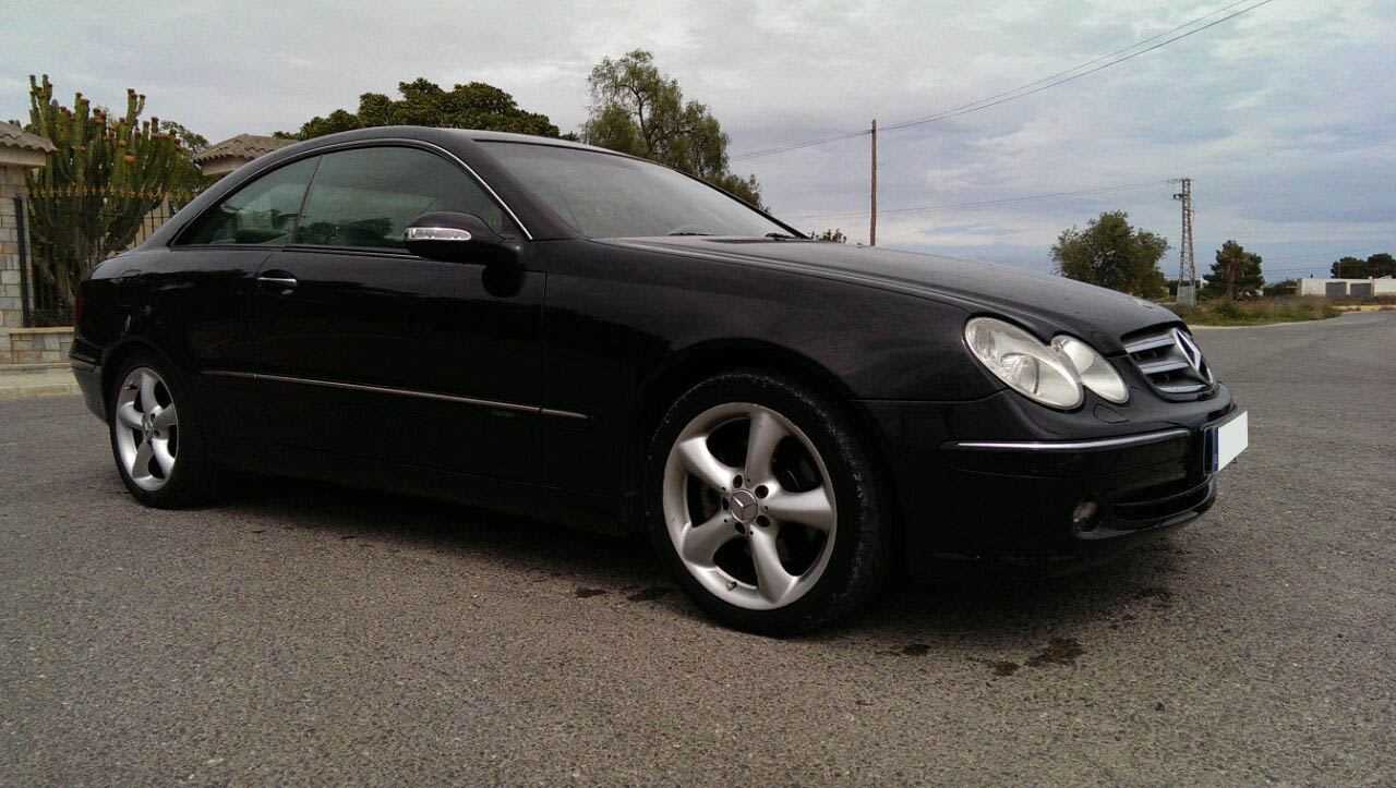 mercedes clk 270 cdi venta clk diesel 2004. Black Bedroom Furniture Sets. Home Design Ideas