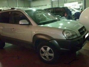 Hyundai Tucson diesel con motor averiado en venta ref 1578, año 2006