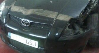Toyota Auris siniestrado venta Ref 1378 1