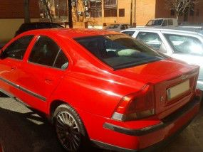 Volvo S60 con turbo roto, 2.4d Optima, año 2003