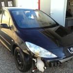 Peugeot 307 accidentado en venta