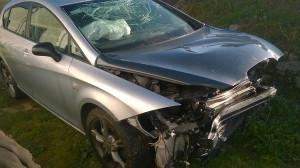 Seat Leon FR accidentado año 2007