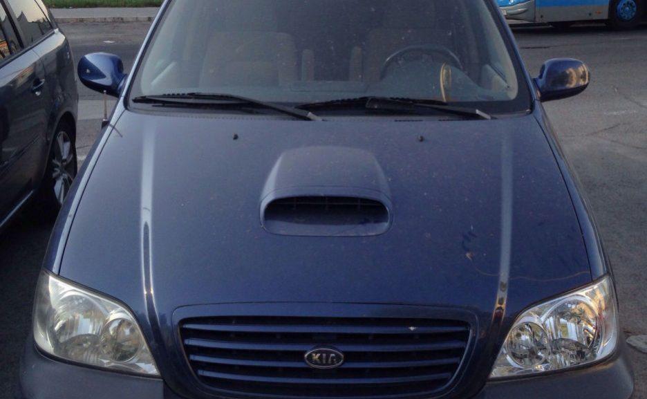 Kia Carnival motor roto en venta