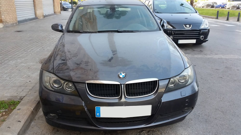 Bmw 320d averiado VG91