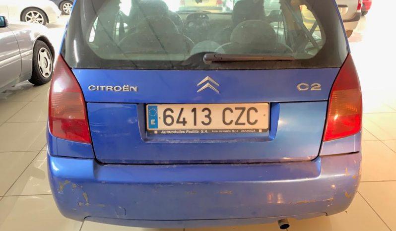 Citroen C2 diesel con golpe lleno